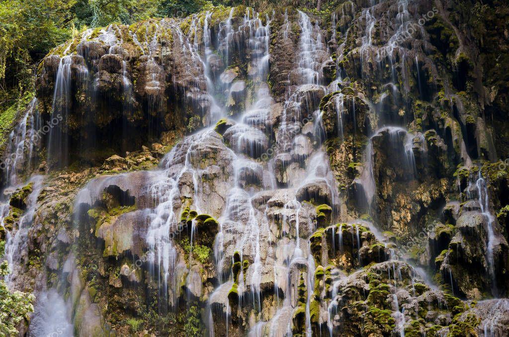 Beautiful Tolantongo caves