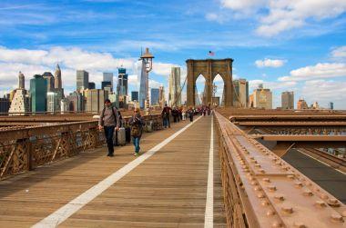 Brooklyn Bridge in New York. USA