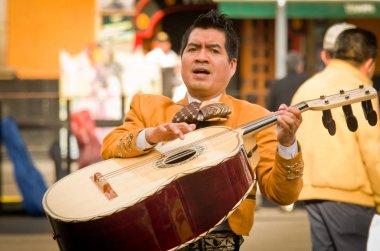 Mariachi band play mexican music