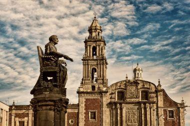 Church of Santo Domingo in Mexico city