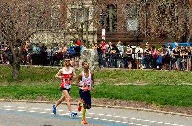 Annual marathon in Boston