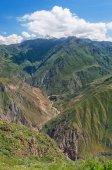 Fotografia Vista del Canyon di Colca, Perù