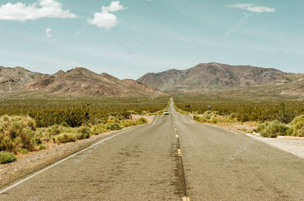 Road in Death Valley National Park, USA