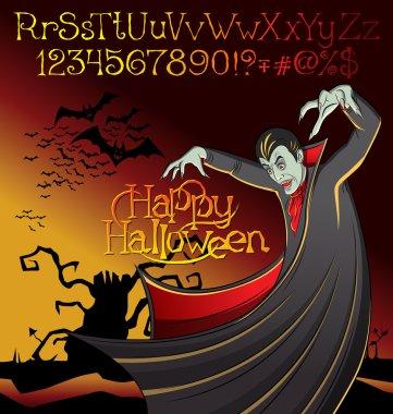 Cartoon Frankenstein Halloween
