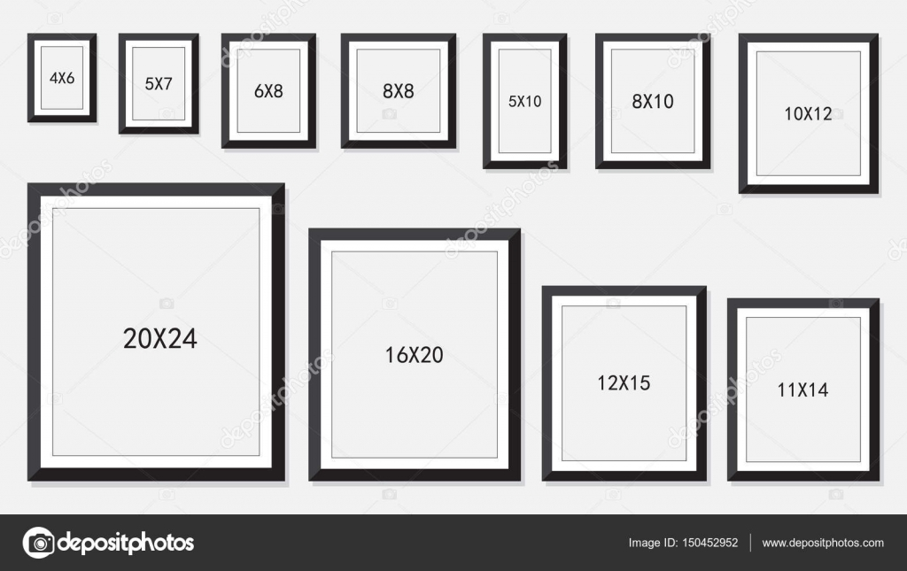 Rectangle Photo Frame Sizes Picture Frame Ideas