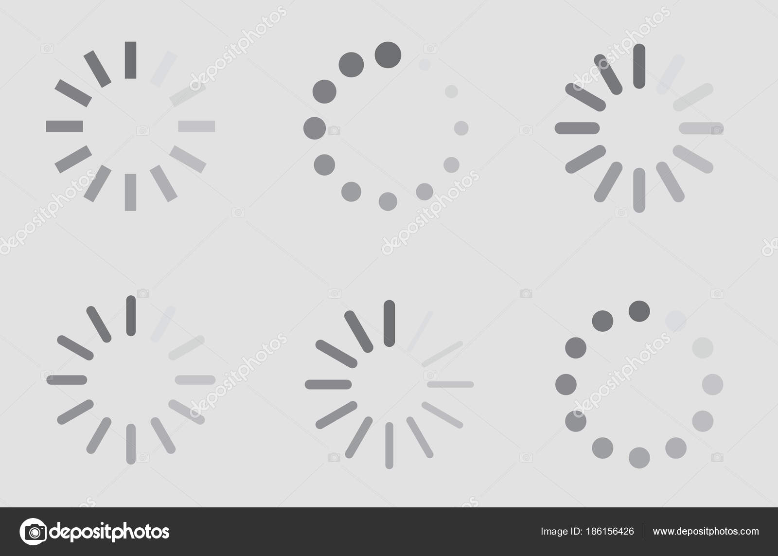 Download sign indicator waiting icons set loading symbol stock download sign indicator waiting icons set loading symbol stock vector biocorpaavc Image collections