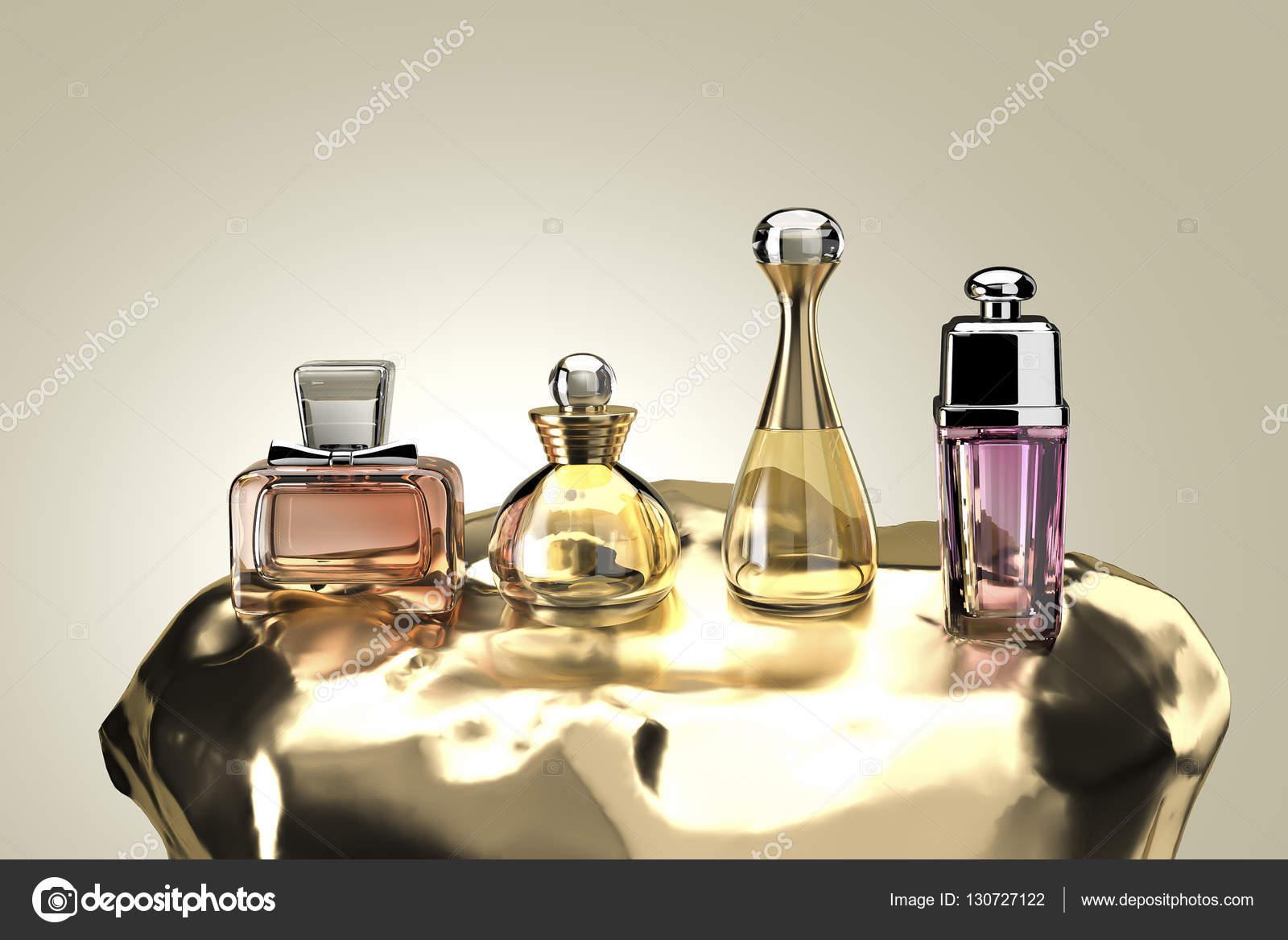 Premium Deluxe Perfume Packaging Gift Set 3d Rendering Stock Photo C Chonnajak 130727122