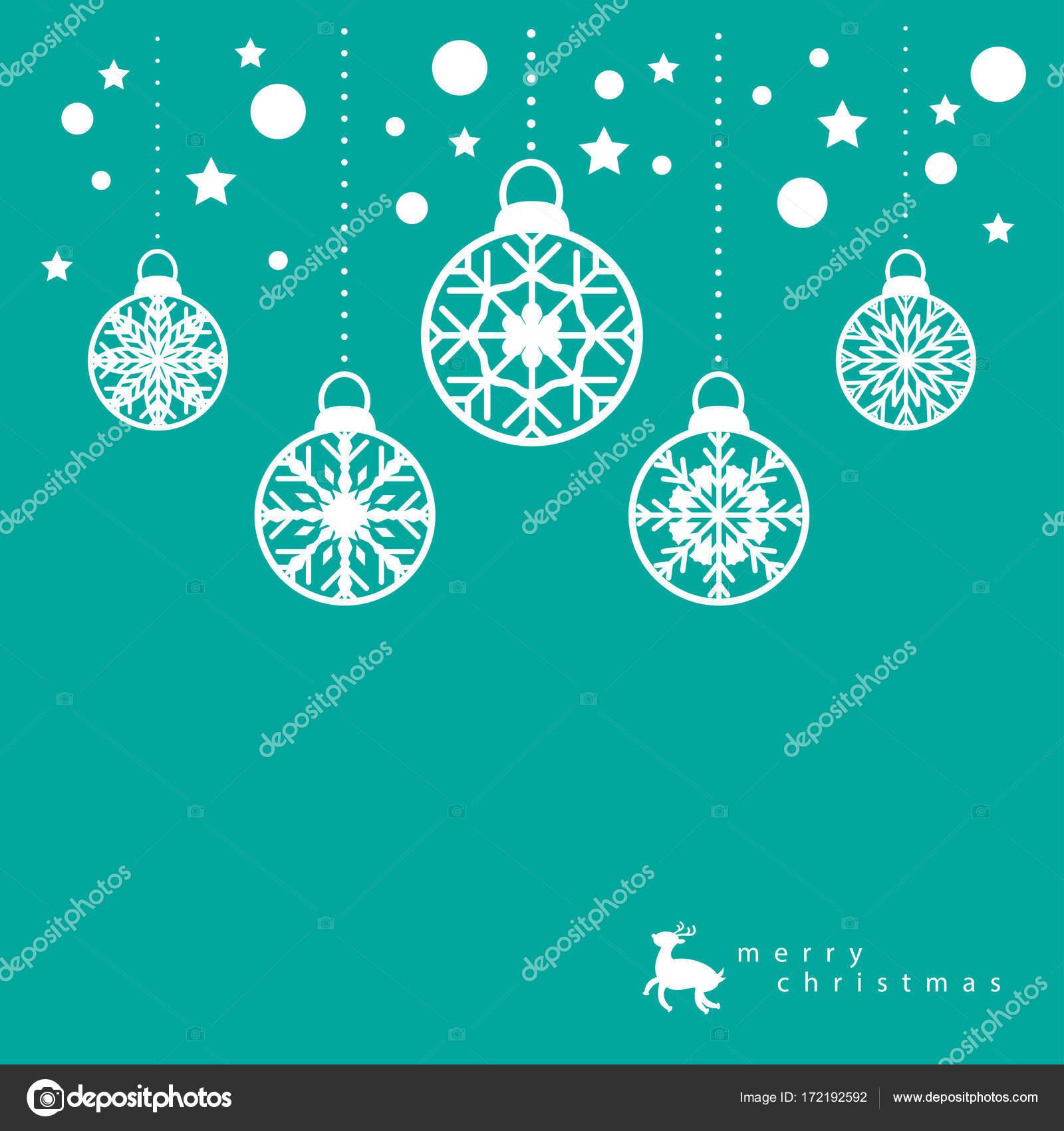 Weihnachtskarte Vorlage Stockvektor Suwaruk 172192592