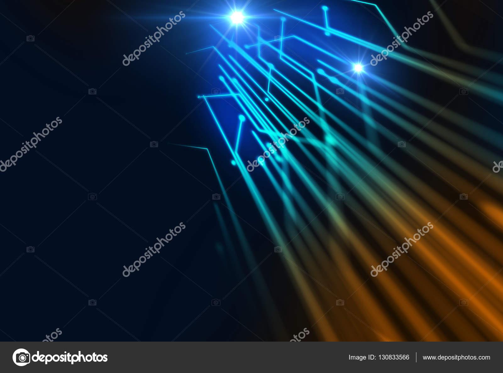 intreepupil afbeelding van glasvezel verlichting abstracte ...