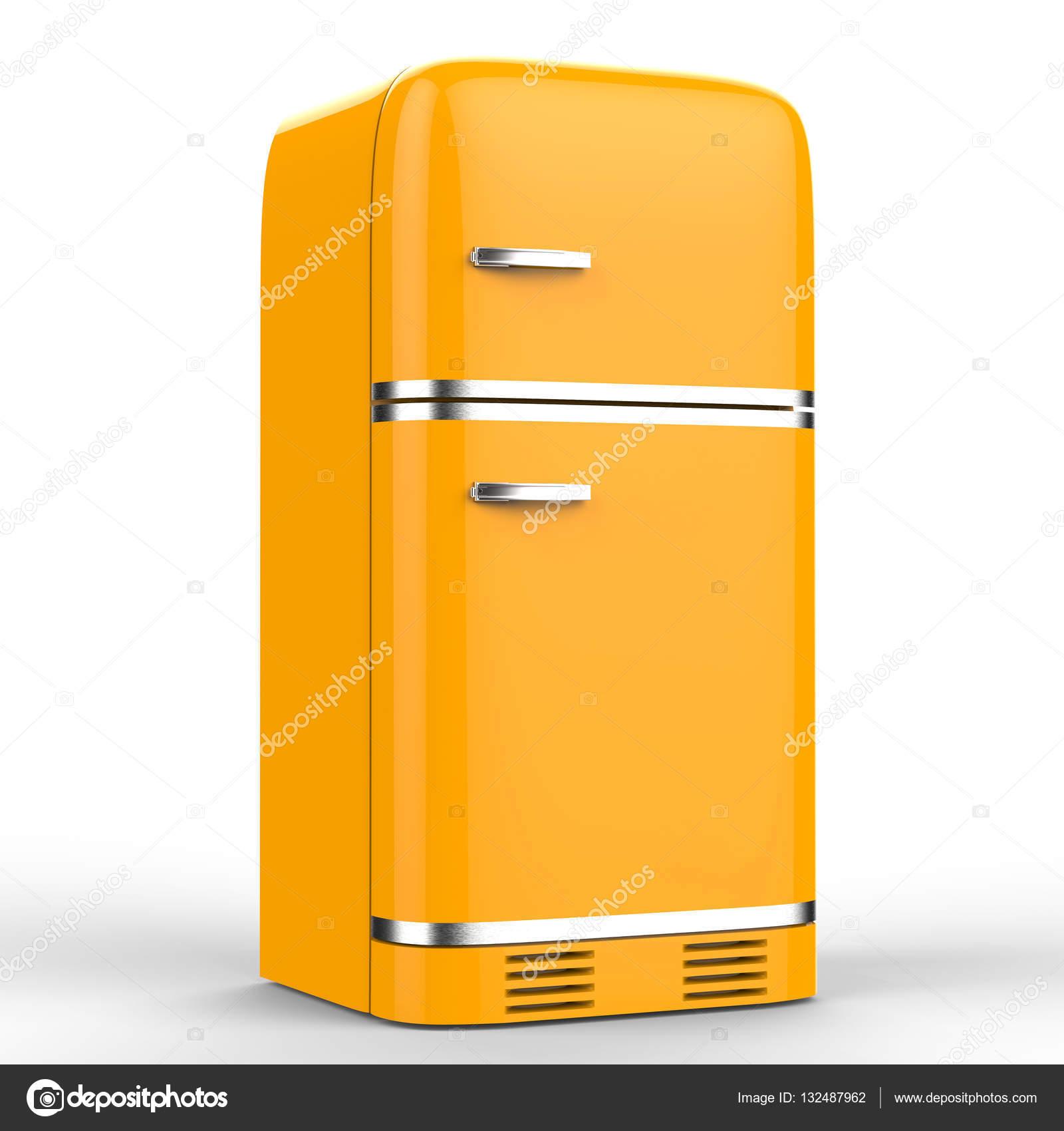retro design koelkast stockfoto phonlamai 132487962. Black Bedroom Furniture Sets. Home Design Ideas