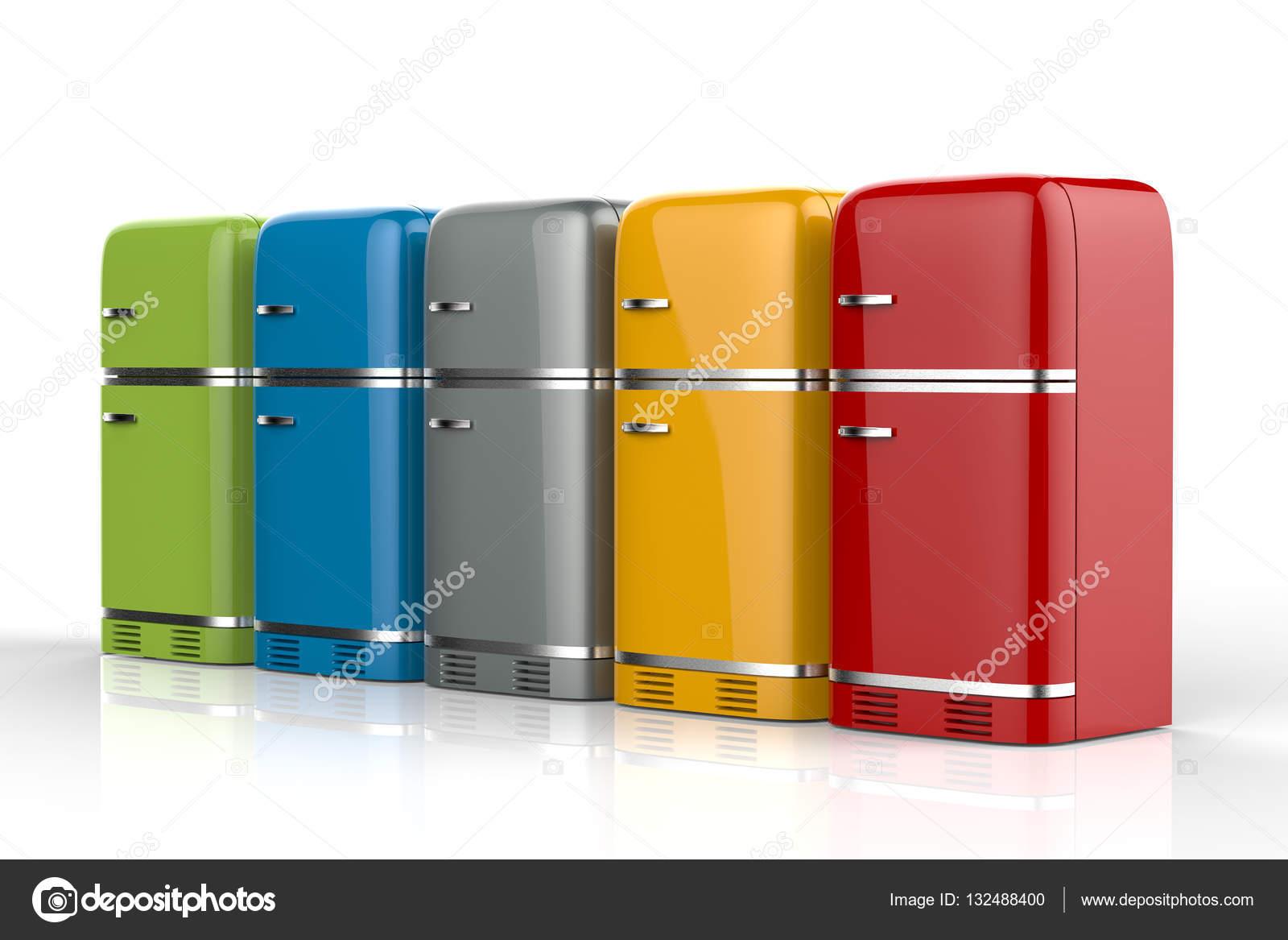 Kühlschränke in Folge — Stockfoto © phonlamai #132488400