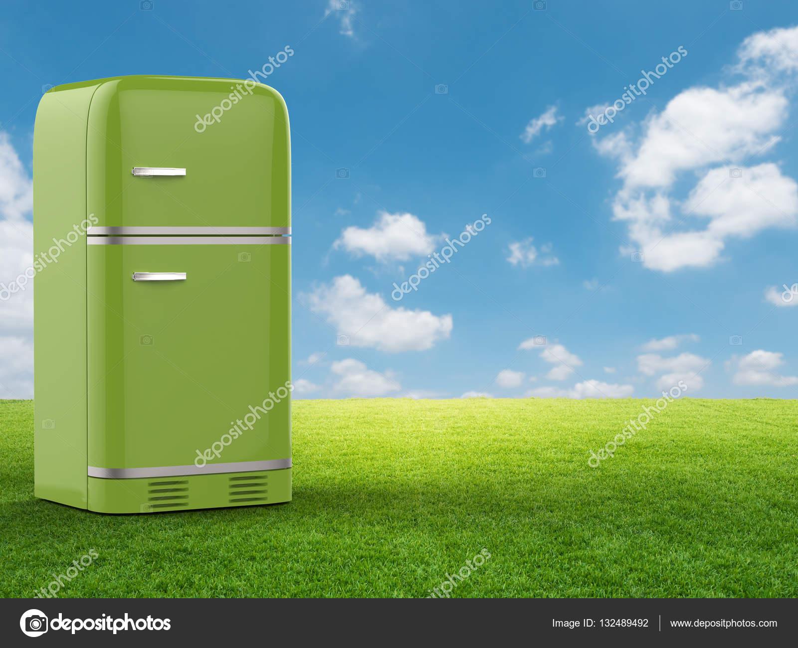 Retro Kühlschrank Gelb : Grün retro kühlschrank u stockfoto phonlamai