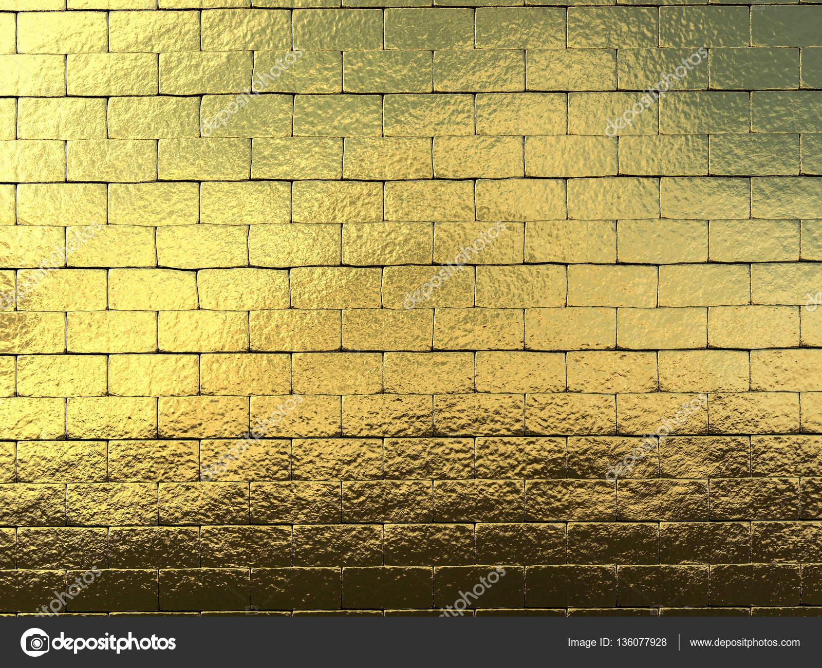 Parete Doro : Sfondo di muro doro u2014 foto stock © phonlamai #136077928