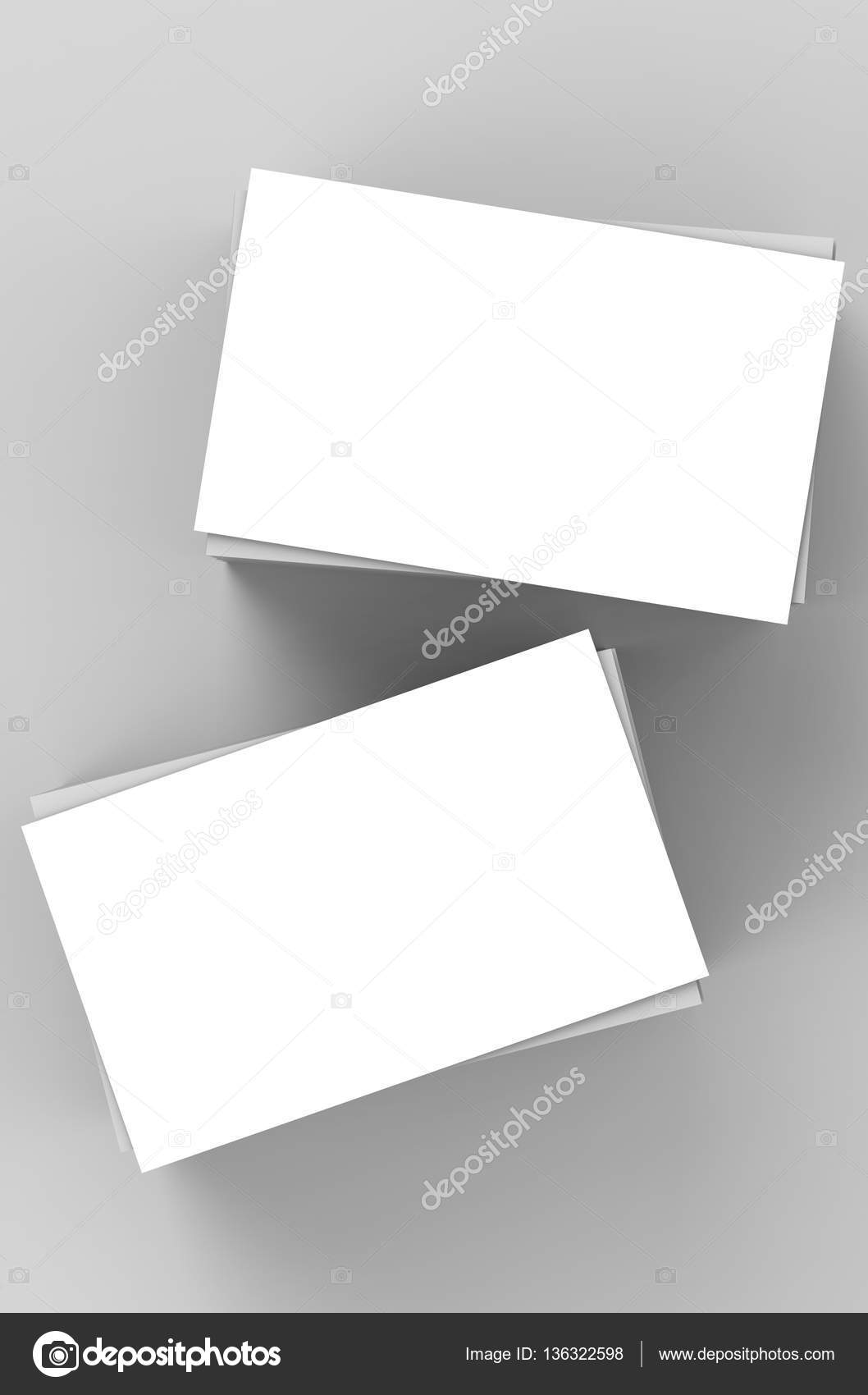 Stack of blank business cards stock photo phonlamai 136322598 stack of blank business cards stock photo colourmoves