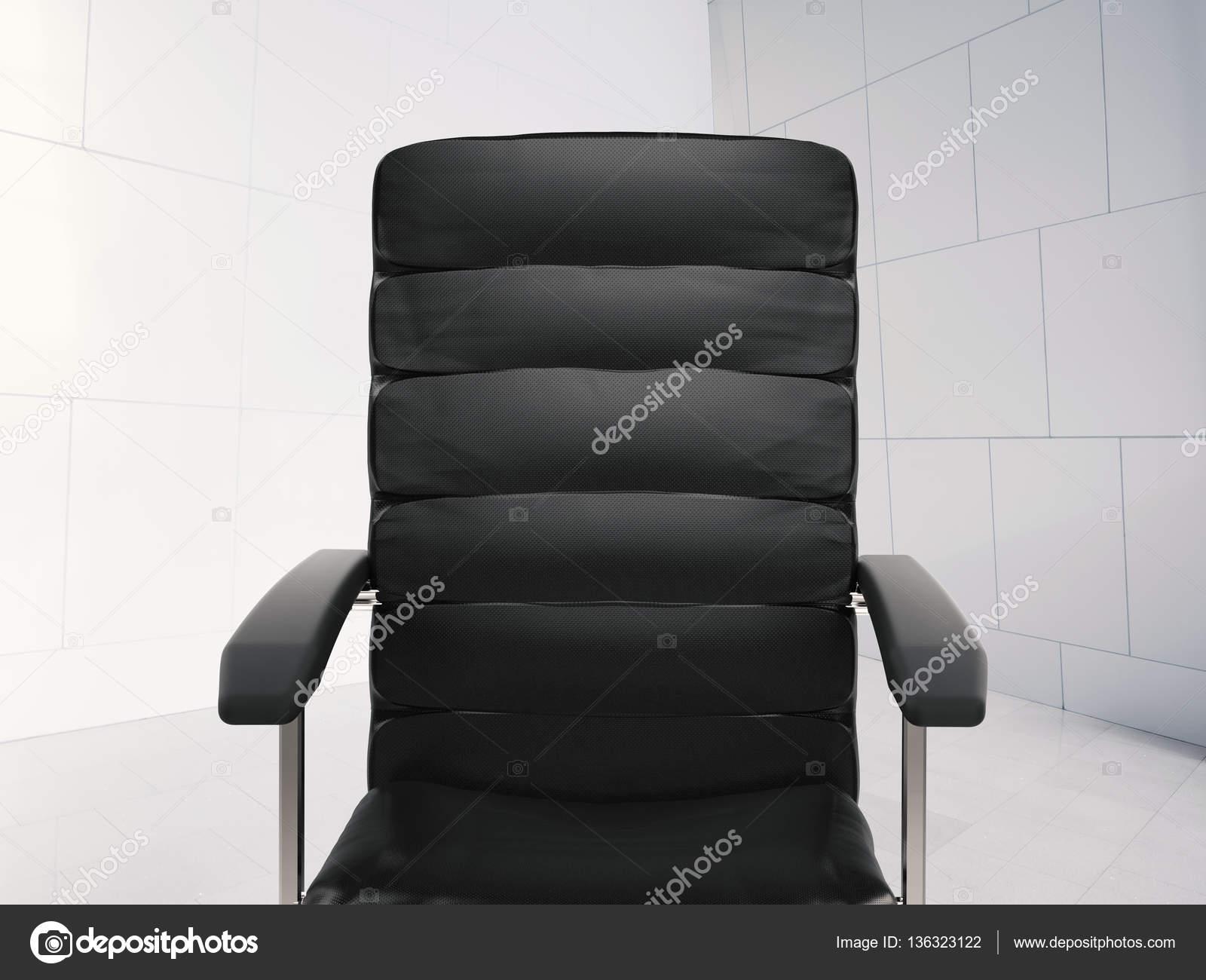 Sedie Da Ufficio In Pelle : Sedia da ufficio in pelle nera u2014 foto stock © phonlamai #136323122
