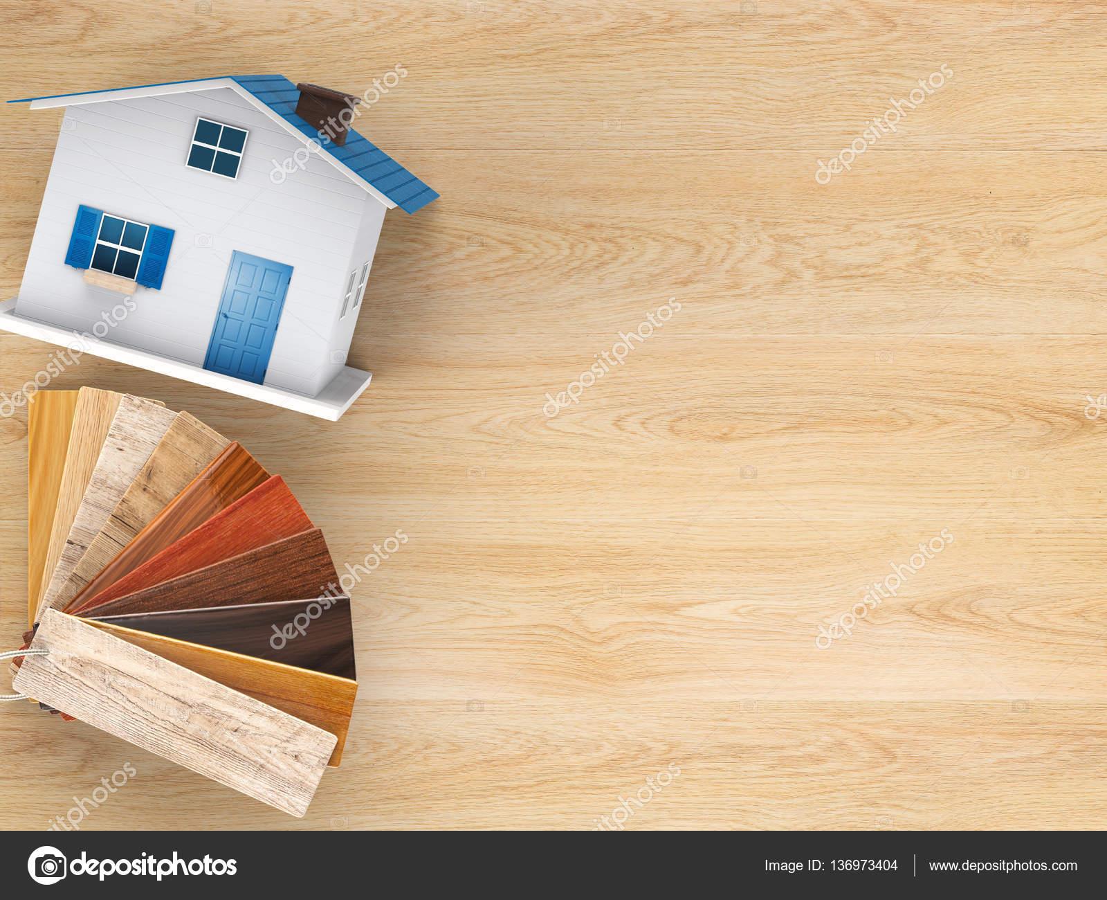 Decorazioni In Legno Per La Casa : Guida di colore di legno per la decorazione della casa u foto