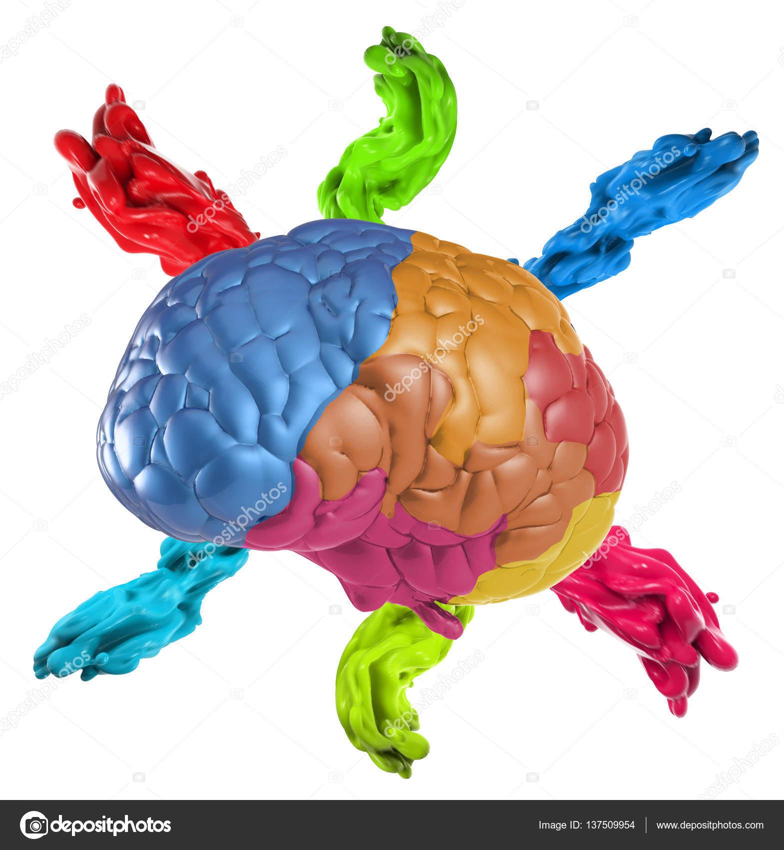 creativity brain concept — Stock Photo © phonlamai #137509954