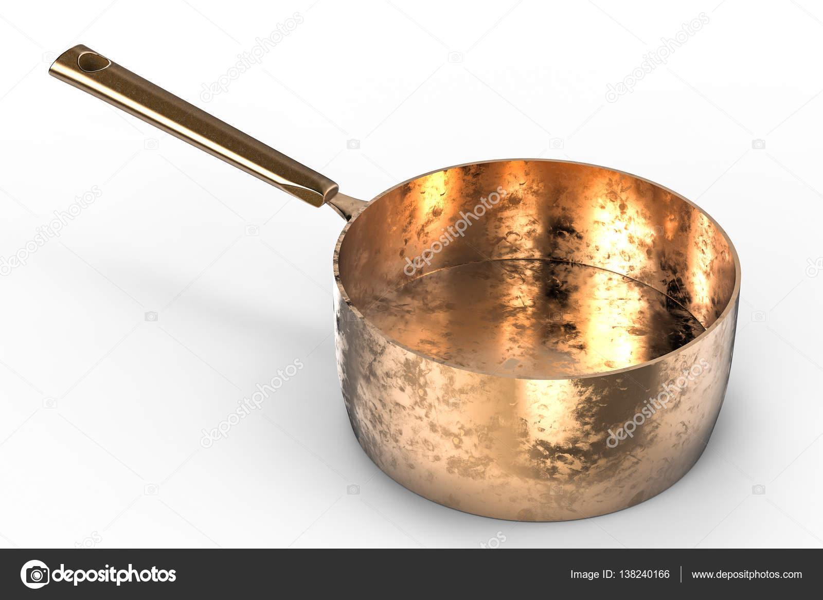 leere Kupfer Topf — Stockfoto © phonlamai #138240166