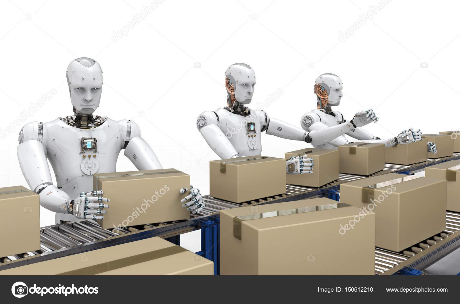 Risultati immagini per robot che lavorano