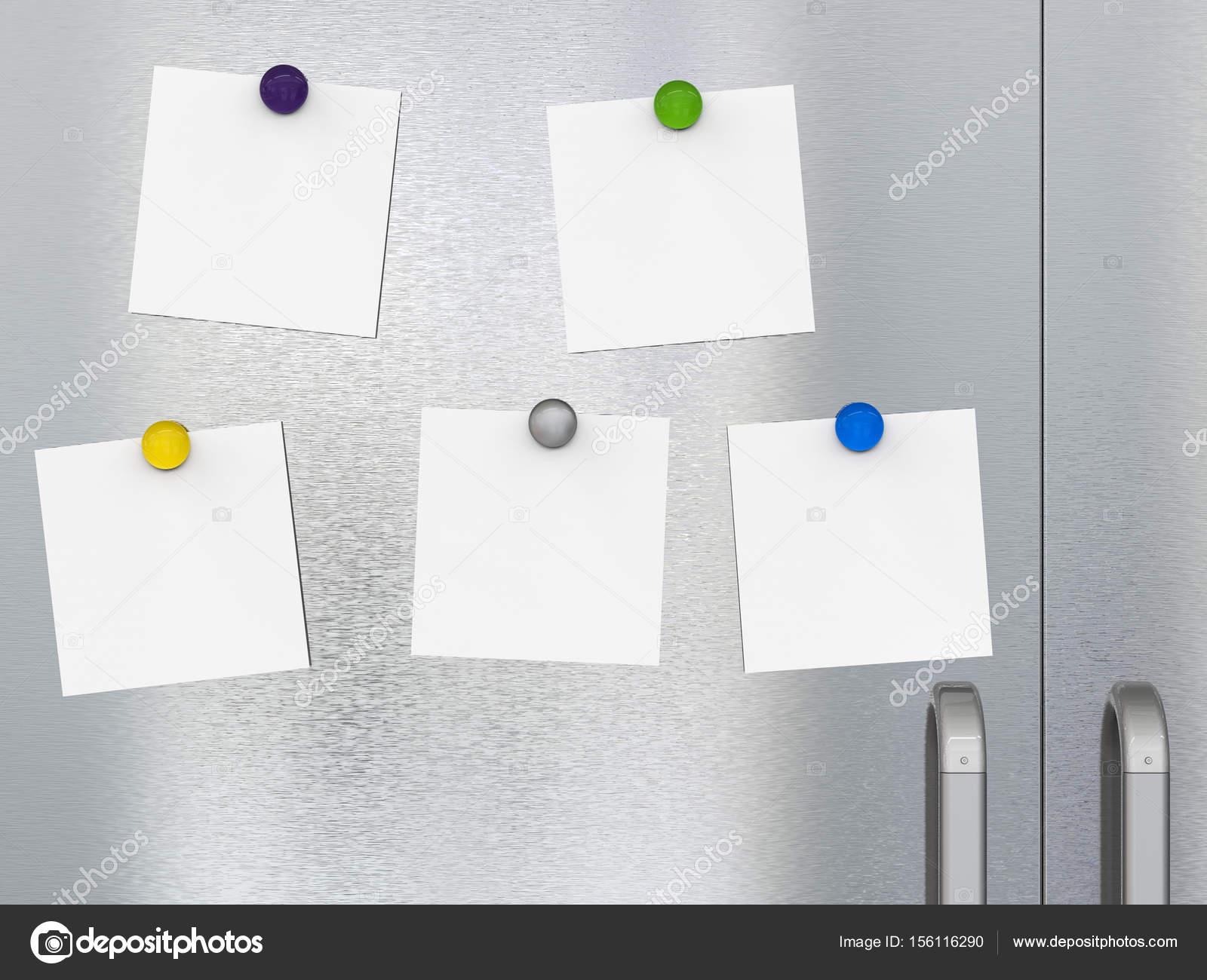 Kühlschrank Magnete : Leere notizen mit kühlschrank magnete u2014 stockfoto © phonlamai #156116290