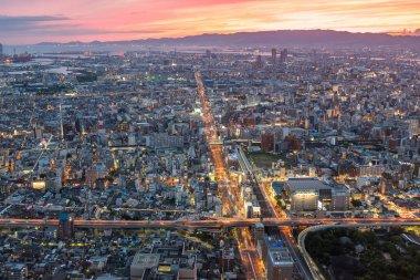 Osaka cityscape view