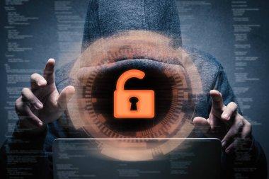 keypad unlock with successful hacker