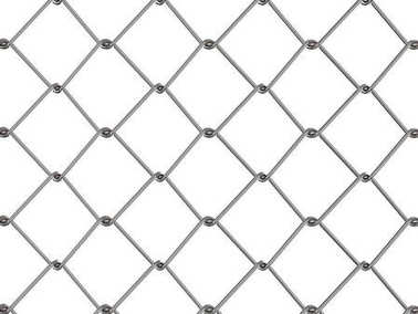 mesh fence or chain fence