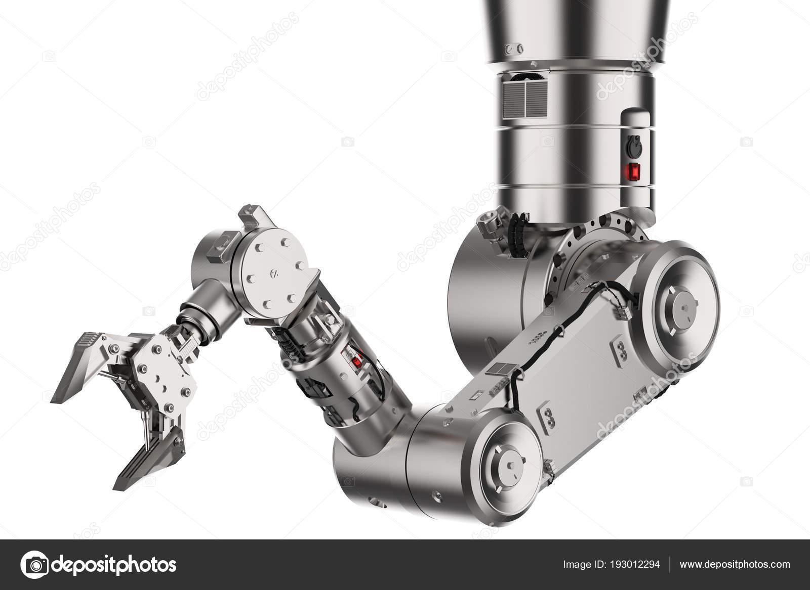 Robotic arm or robot hand — Stock Photo © phonlamai #193012294