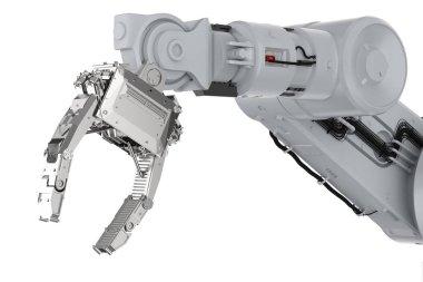 robotic arm or robot hand
