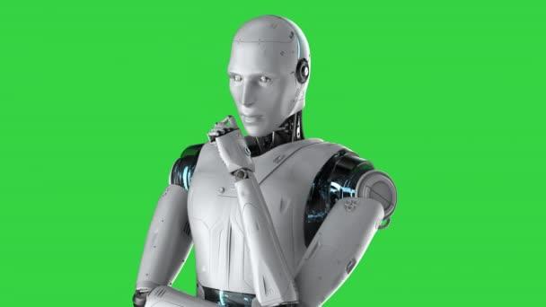 robot myslet nebo počítat izolované