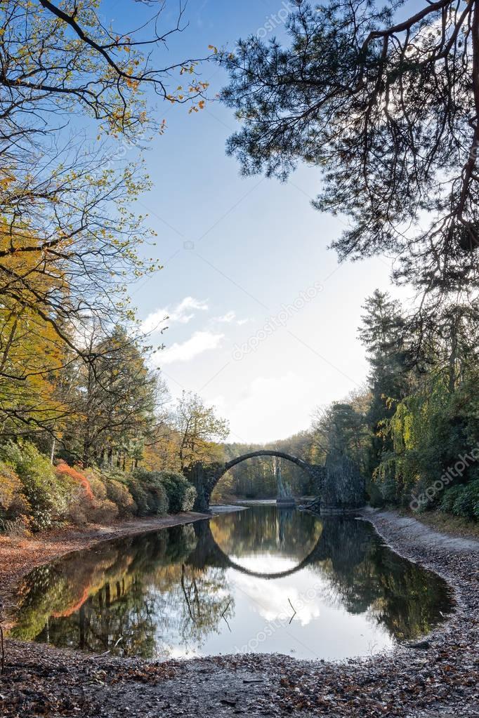 Devil's Bridge in Kromlau