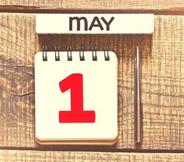 May 1st. Day 1 of month