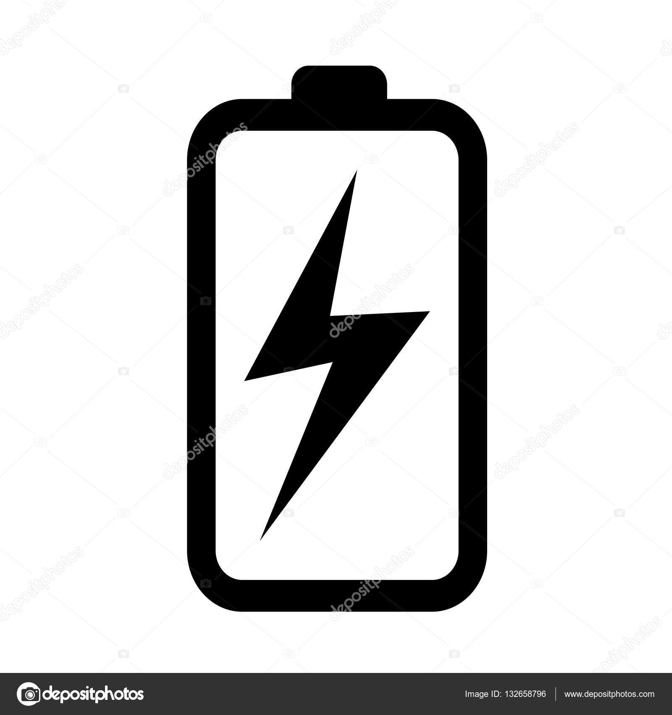 charging battery icon — Stock Vector © porjai #132658796