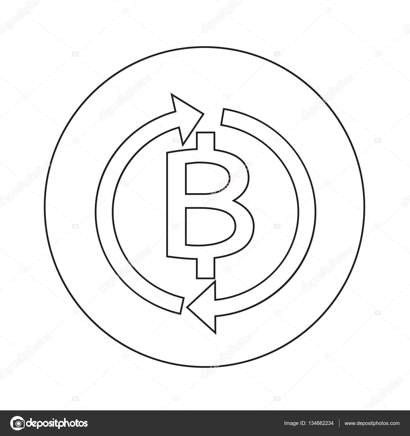 diseño de ilustración de icono de baño tailandés de dinero