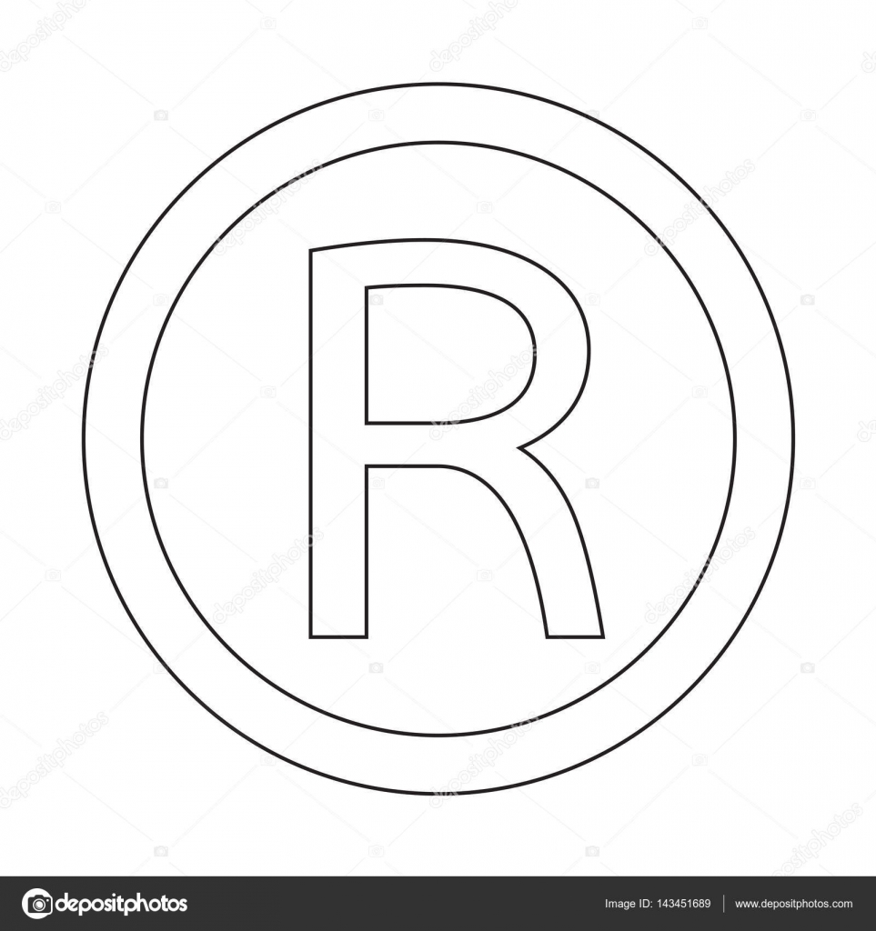 Registered trademark icon stock vector porjai 143451689 registered trademark icon stock vector biocorpaavc Choice Image