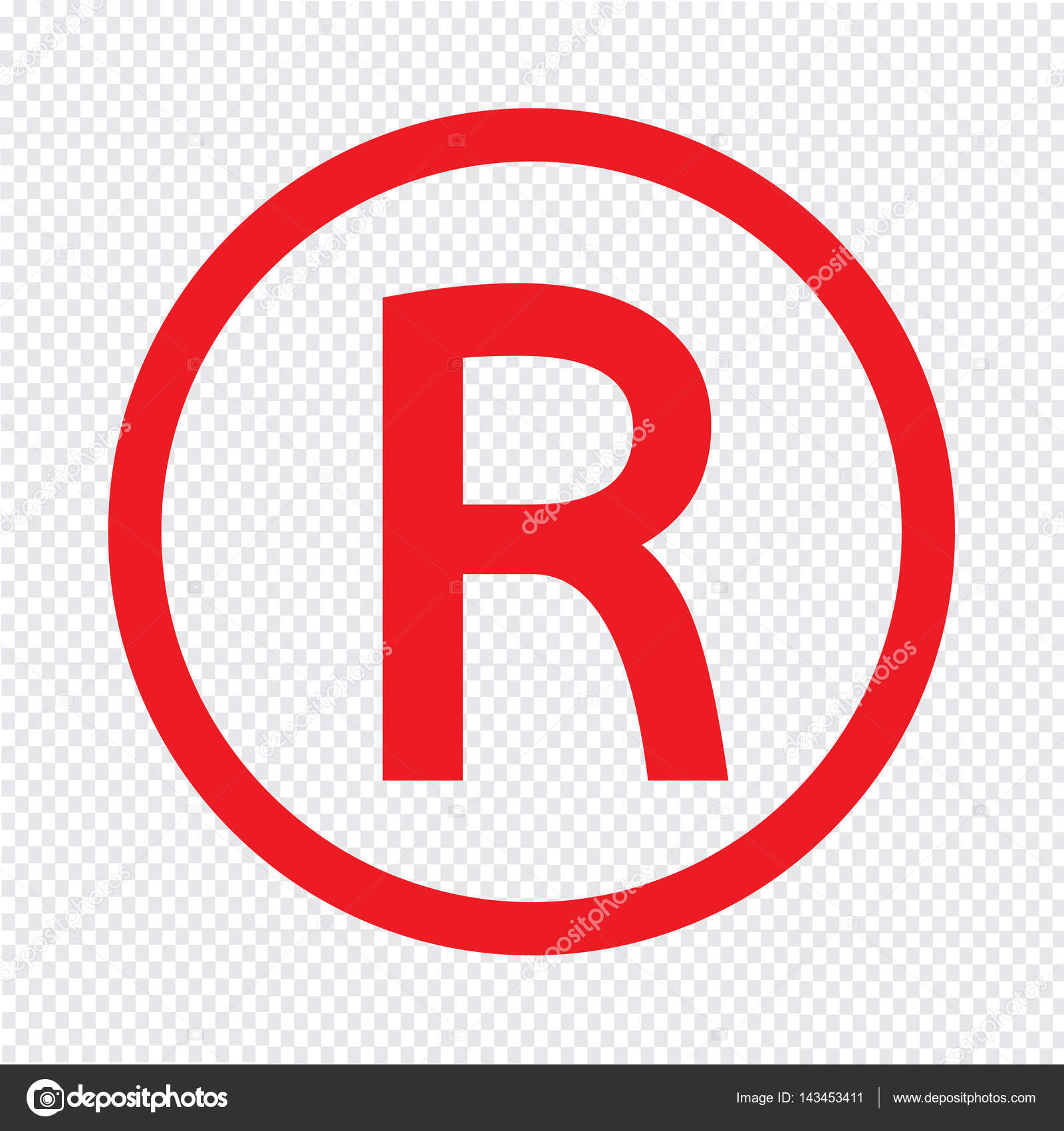Registered trademark icon stock vector porjai 143453411 registered trademark icon stock vector biocorpaavc Choice Image