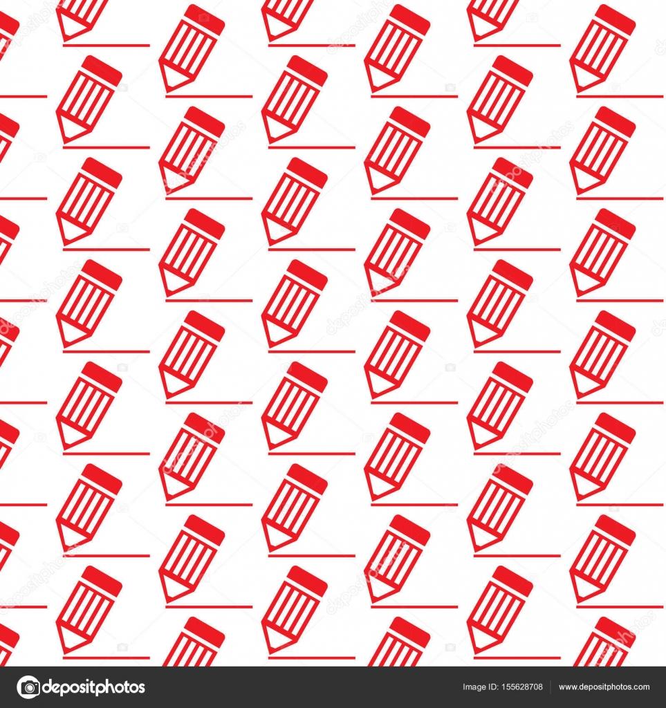 Bleistift einfache Symbole — Stockvektor © porjai #155628708