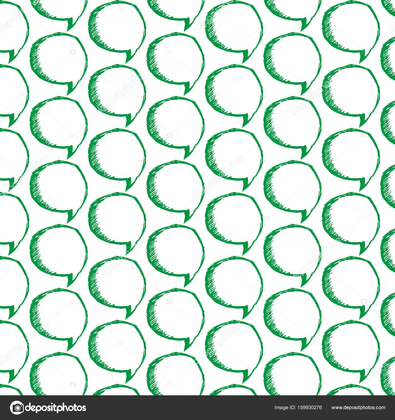 rede blasen muster stockvektor - Hochzeitsrede Muster