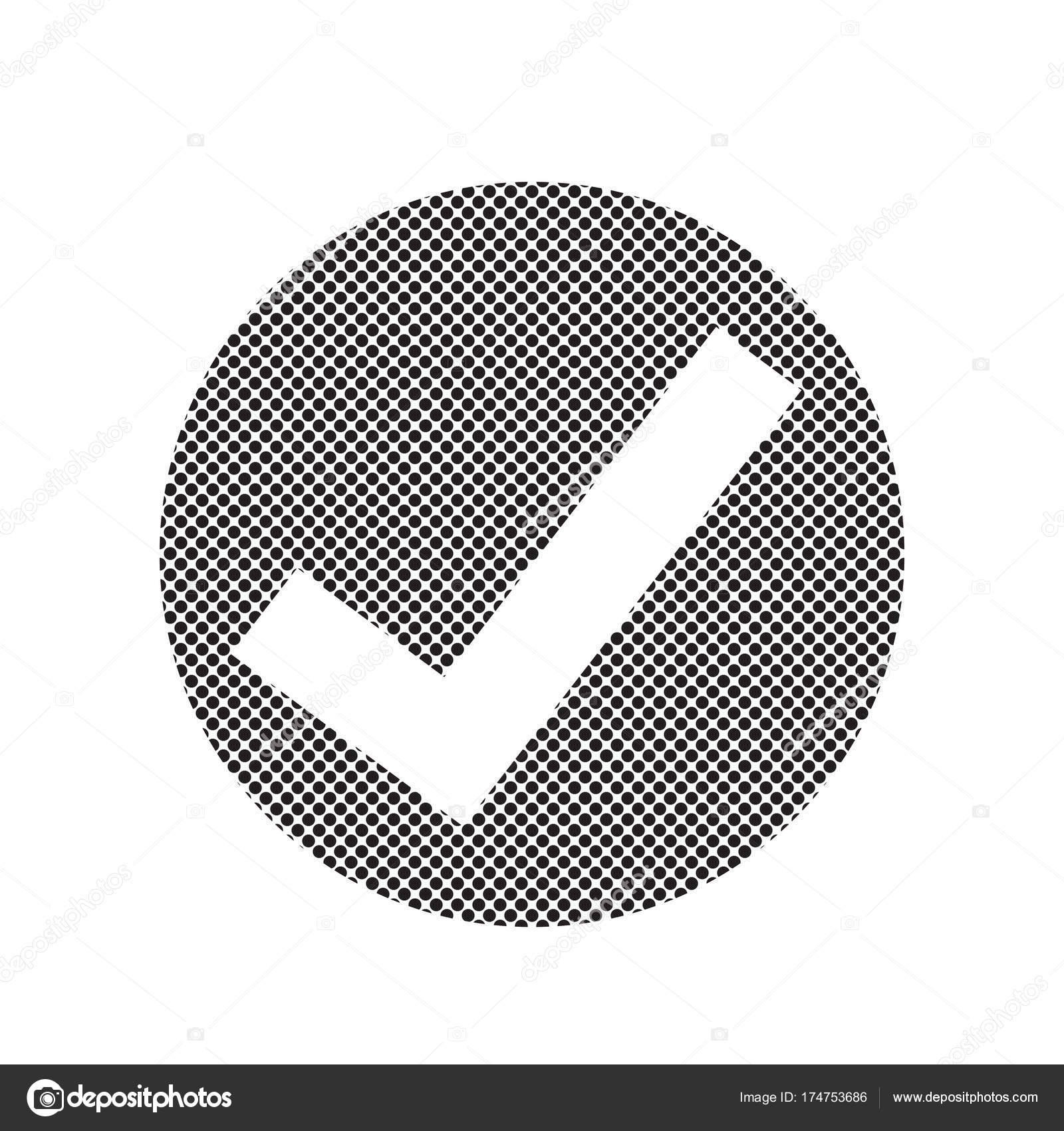 Icono De Marca De Tick Vector De Stock Porjai 174753686
