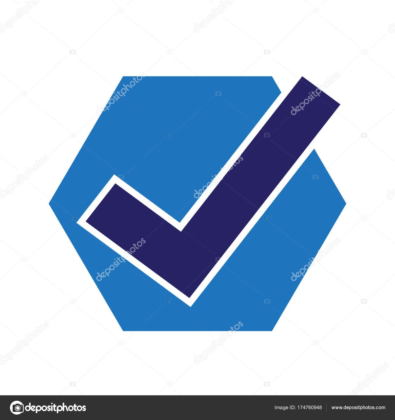 Icono De Marca De Tick Vector De Stock Porjai 174760948
