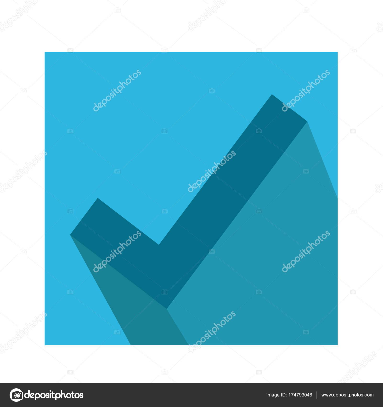 Icono De Marca De Tick Vector De Stock Porjai 174793046