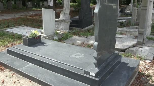 The Jewish cemetery. Varna. Bulgaria.