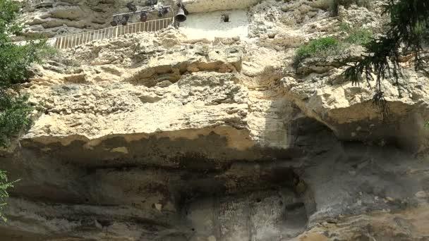 Aladzha Monastery in the mountains. Varna. Bulgaria.