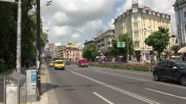 Varna. Bulgaria. Buildings, streets, districts.