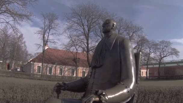 Památník Petra Velikého v Petrohradu. Shemyakin sochař.