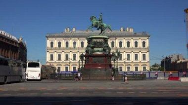 Památník na císaře Nicholas I. St. Petersburg. 4k