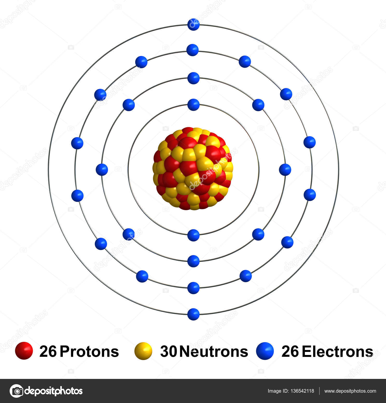 structure of atom If the charge of an entire atom is 0, or neutral, there are equal numbers of positive and negative charges neutral atoms have equal numbers of electrons and protons the third particle is the neutron.