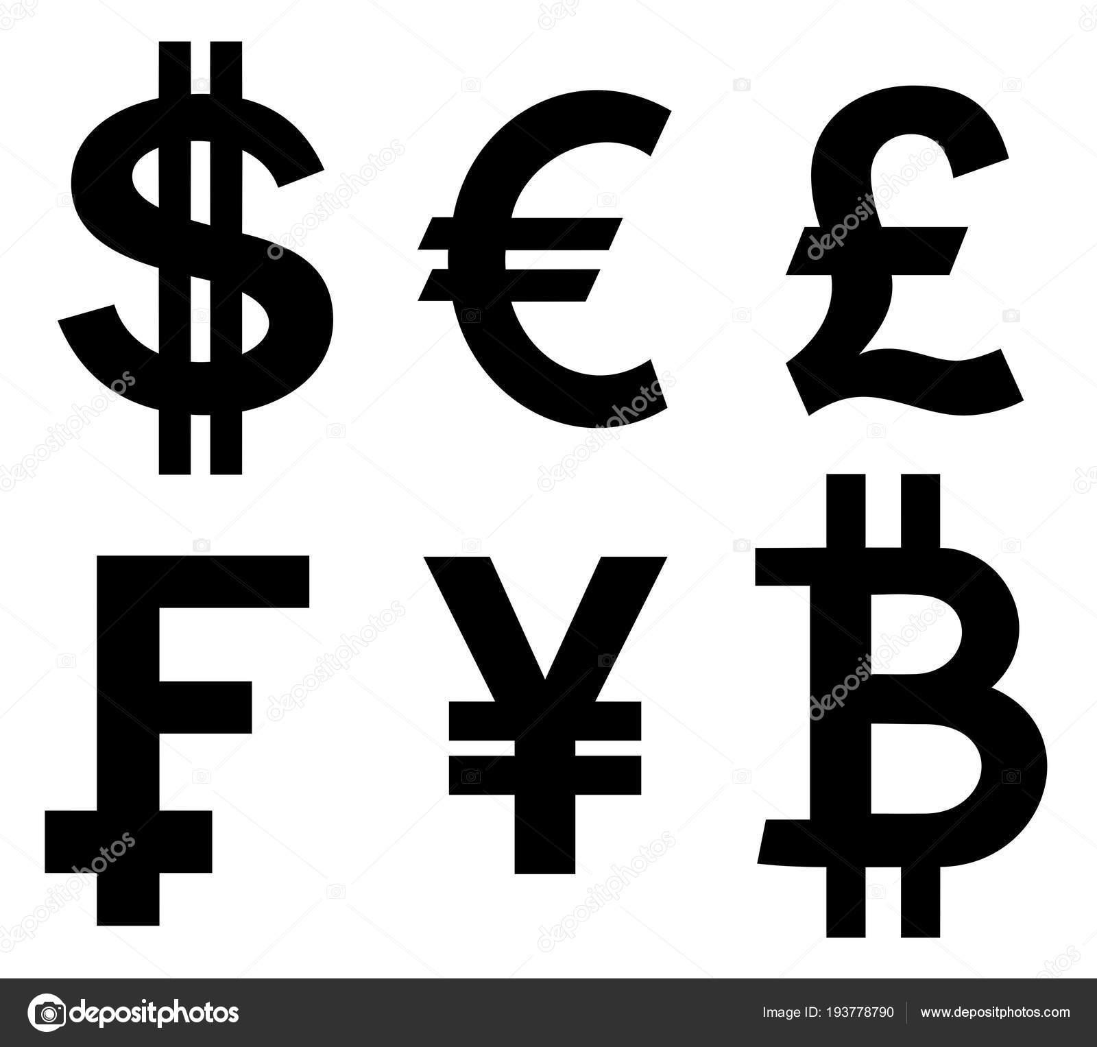 Currency symbols — Stock Vector © oorka5 #193778790
