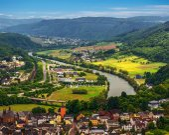Fotografie Saar River Valley