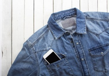 Concept I love music phone jeans clothes
